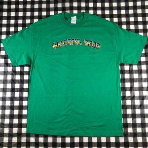 Grateful Dead 2005 Rainbow Logo Rock Band T shirt
